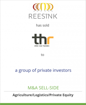 Tombstone image for Royal Reesink N.V. has sold THR to a group of private investors