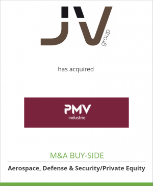 Tombstone image for JV Group has acquired PMV Industrie