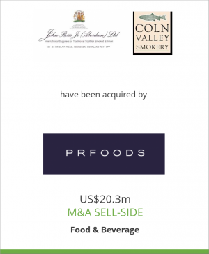 Tombstone image for John Ross & Coln Valley  have been acquired by AS PRFoods