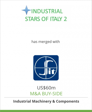 Tombstone image for Industrial Stars of Italy 2 has merged with SIT Spa