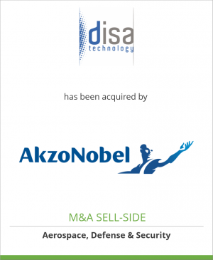 Tombstone image for Disa Technology has been acquired by AkzoNobel N.V.
