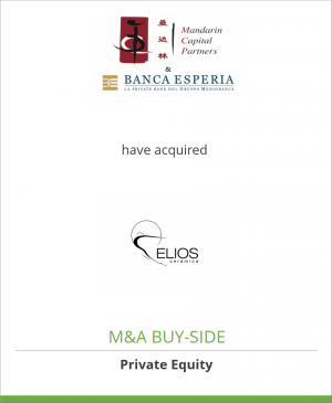 Tombstone image for Mandarin and Banca Esperia have acquired Elios Ceramica Spa