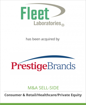 Tombstone image for C.B. Fleet Company, Inc. has been acquired by Prestige Brands Holdings, Inc.