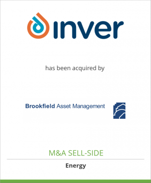Tombstone image for Inver Energy Ltd has been acquired by Brookfield Asset Management Inc.