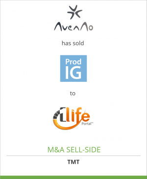 Tombstone image for AvenAo Industrie has sold Prod IG to 1Life
