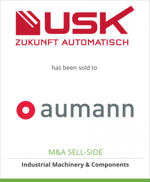 Tombstone image for USK Karl Utz GmbH has been sold to Aumann AG