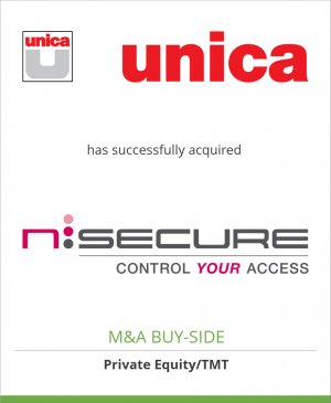 Tombstone image for Unica has successfully acquired Nsecure