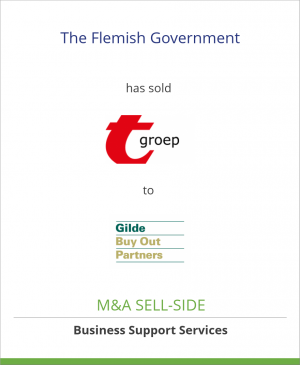 Tombstone image for The Flemish Government has sold t-groep to Gilde Buy Out Partners