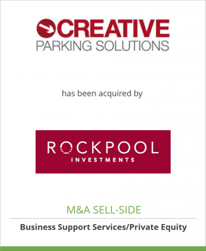 Tombstone image for Creative Car Park Ltd. has been acquired by Rockpool Investments LLP