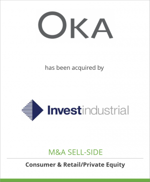Tombstone image for OKA Direct Ltd has been acquired by Investindustrial