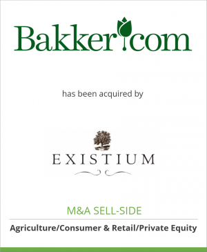 Tombstone image for Bakker.com has been acquired by Existium