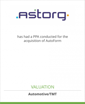 Tombstone image for Astorg has had a PPA conducted for the acquisition of AutoForm