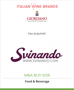 Tombstone image for Italian Wine Brands has acquired Svinando Wine Club
