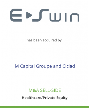 Tombstone image for E-Swin has been acquired by M Capital Groupe and Ciclad