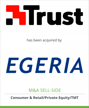 Tombstone image for Trust Holding N.V. has been acquired by Egeria