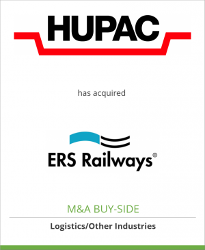 Tombstone image for Hupac SA has acquired ERS Railways B.V.