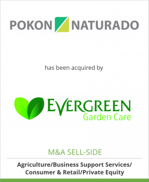Tombstone image for Pokon Naturado B.V. has been acquired by Evergreen Garden Care