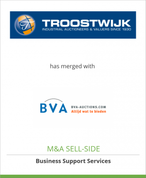 Tombstone image for Troostwijk Auctions has merged with BVA Auctions