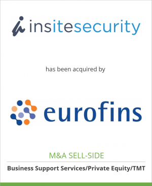 Tombstone image for Insite Security Groep B.V. has been acquired by Eurofins