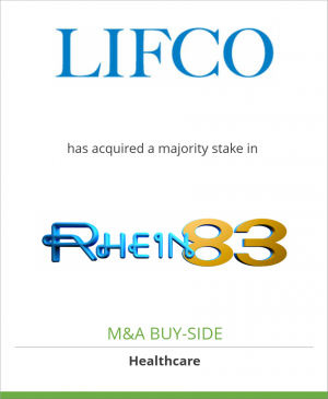 Tombstone image for Lifco AB has acquired a majority stake in Rhein83 Srl