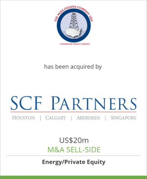 Tombstone image for The Mudlogging Company, Inc. has been acquired by SCF Partners