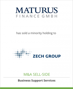 Tombstone image for Maturus Finance GmbH has sold a minority holding to NWI Nordwest Industrie Finance