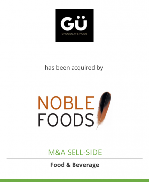 Tombstone image for Gü has been acquired by Noble Foods