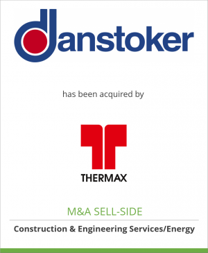 Tombstone image for Danstoker Holding A/S has been acquired by Thermax Limited