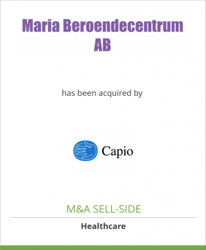 Tombstone image for Maria Beroendecentrum AB has been acquired by Capio AB
