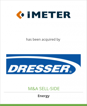 Tombstone image for iMeter B.V. has been acquired by Dresser, Inc.