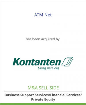 Tombstone image for ATM Net has been acquired by Kontanten AB