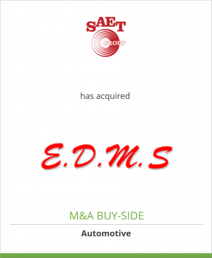 Tombstone image for Saet Group has acquired EDMS