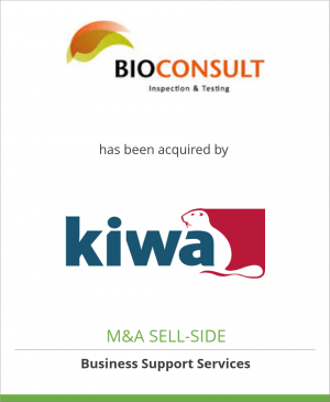 Tombstone image for Bioconsult has been acquired by Kiwa N.V.