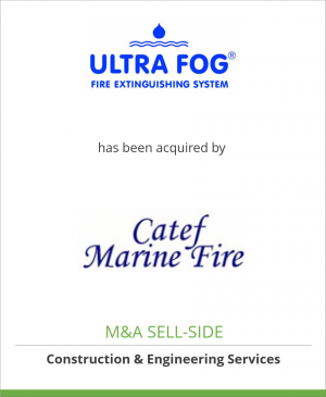 Tombstone image for Ultra Fog AB has been acquired by CATEF S.r.l.