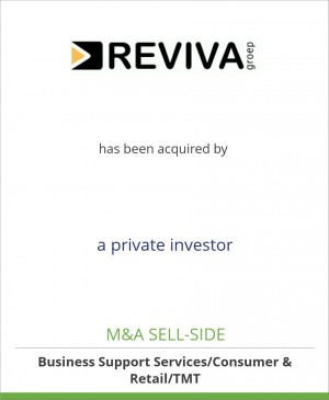 Tombstone image for Reviva has been acquired by a private investor