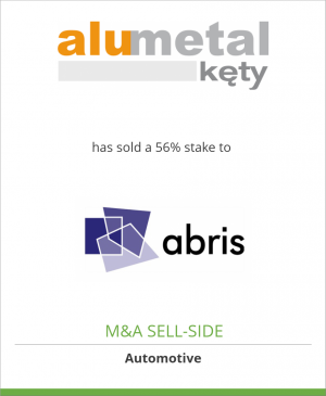 Tombstone image for Alumetal S.A. has sold a 56% stake to Abris Capital Partners
