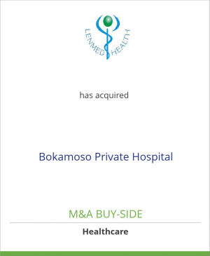 Tombstone image for Lenmed Health (Pty) Ltd. has acquired Bokamoso Private Hospital