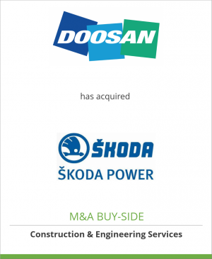 Tombstone image for Doosan Heavy Industries has acquired Skoda Power a.s.