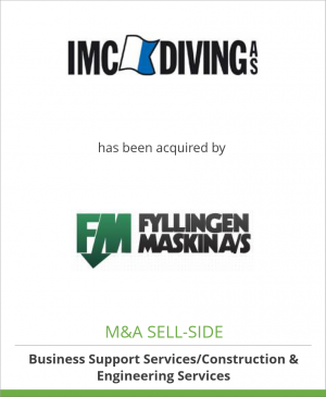 Tombstone image for IMC Diving AS has been acquired by Fyllingen Maskin AS
