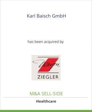Tombstone image for Karl Baisch GmbH has been acquired by Friedrich Ziegler GmbH