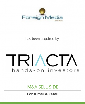 Tombstone image for Foreign Media Music has been acquired by Triacta