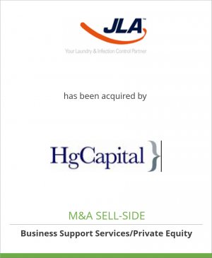 Tombstone image for JLA Ltd has been acquired by HgCapital