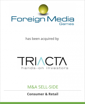 Tombstone image for Foreign Media Games has been acquired by Triacta