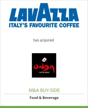 Tombstone image for Luigi Lavazza SpA has acquired Onda Coffee Break