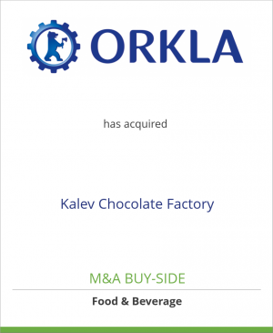 Tombstone image for Felix Abba/Orkla Group has acquired Kalev Chocolate Factory