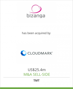 Tombstone image for Bizanga has been acquired by Cloudmark