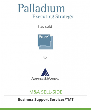 Tombstone image for The Palladium Group has sold Pace Retail Planning Software to Alvarez & Marsal