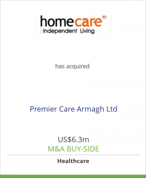 Tombstone image for Homecare Independent Living Grp has acquired Premier Care Armagh Ltd