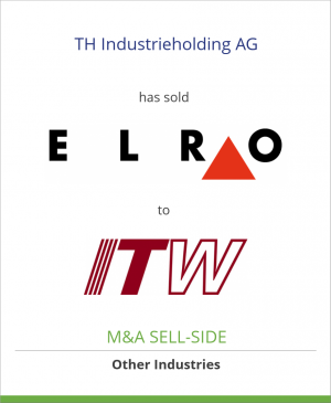 Tombstone image for TH Industrieholding AG has sold ELRO-Werke AG to Illinois Tool Works Inc.