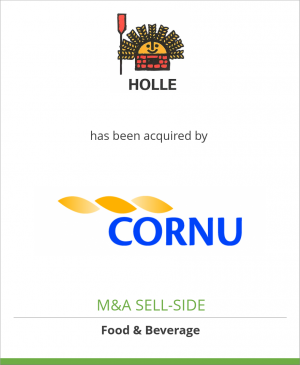 Tombstone image for Holle Holding AG has been acquired by Cornu Holding SA